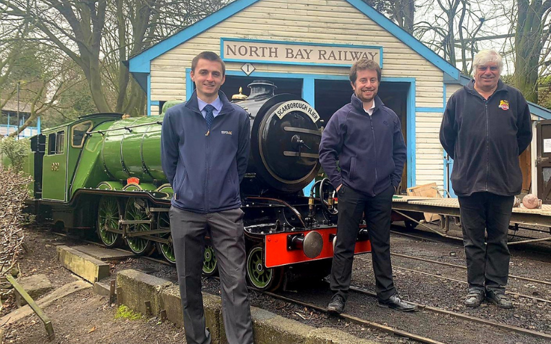 Wake Smith helps secure new owners for historic Scarborough railway