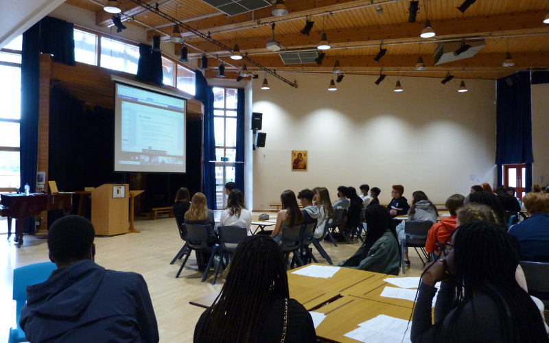 Irwin Mitchell in Leeds educates Year 11 pupils on entering work