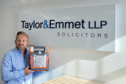 Taylor&Emmet adds defibrillators to all branches