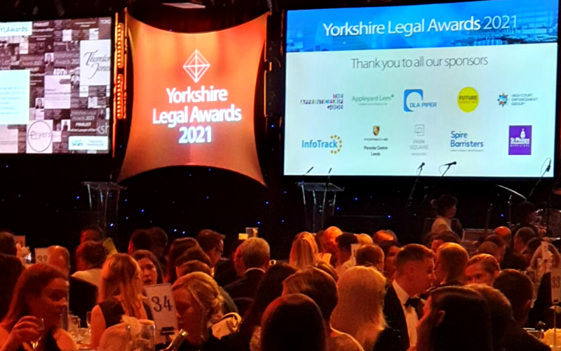 The region's best lawyers and firms celebrate at the Yorkshire Legal Awards 2021